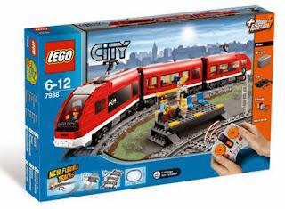 Treno passeggeri costruzioni LEGO City 7938 prezzo caratteristiche natale 2013