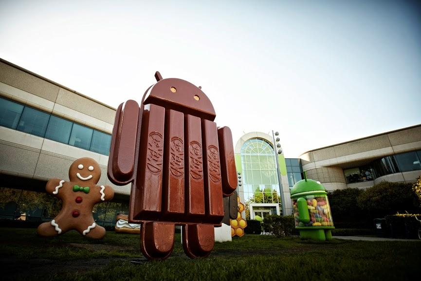 Android KitKat - imagem retirada do perfil do Sundar Pichai (Google+)