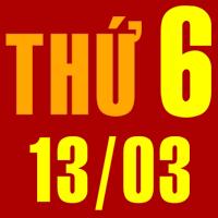 Tử vi 13/3/2015 Thứ Sáu - 12 Cung Hoàng Đạo hôm nay