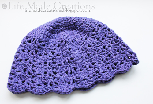 Life Made Creations Crocheted Chemo Cap