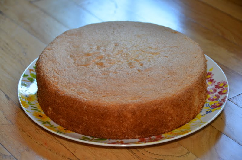 Sponge Cake Using Separated Eggs