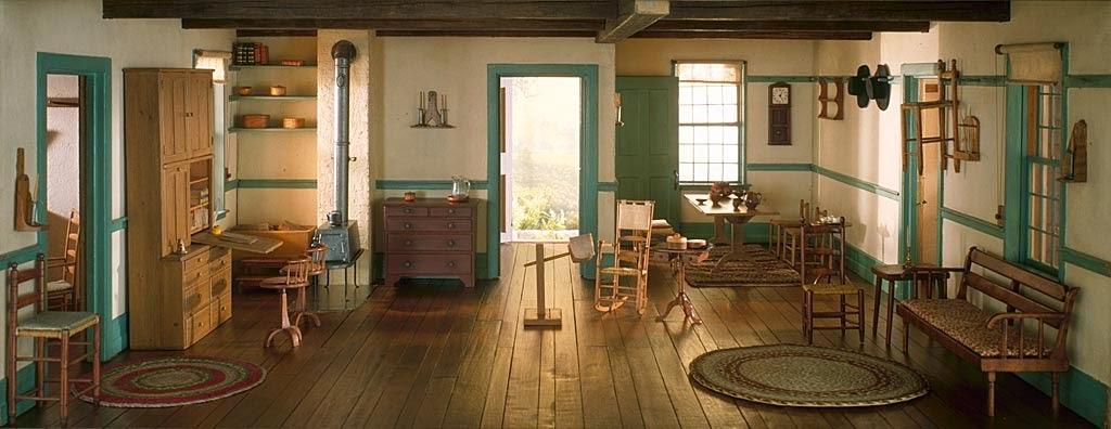 14-1800s-Shaker-Narcissa-Niblack-Thorne-Architecture-Miniature-Models-www-designstack-co