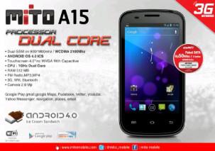 Mito A15 Harga dan Spesifikasi