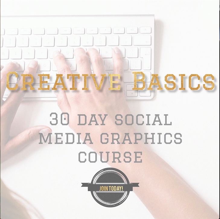 Learn how to make awesome media graphics with Crystal Stine's Creative Basics 2016