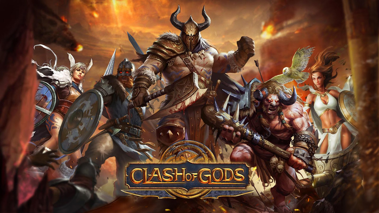 Clash of Gods Gameplay IOS / Android