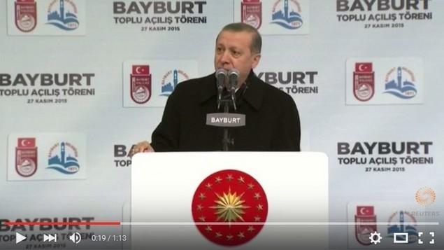 Pidato Turki Hanya Takut Kepada ALLAH