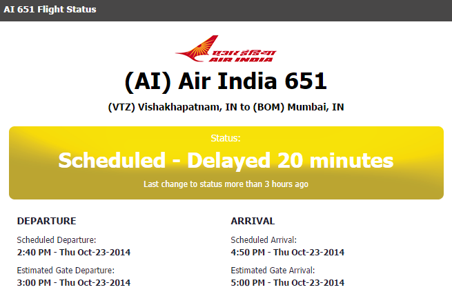 ai 651 flight cancelled oct 23 2014