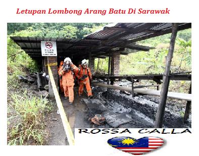 Letupan Lombong Arang Batu Di Sarawak 22 Nov 2014