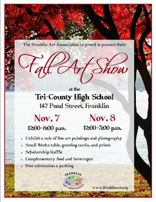 Fall Art Show - Nov 7 and Nov 8