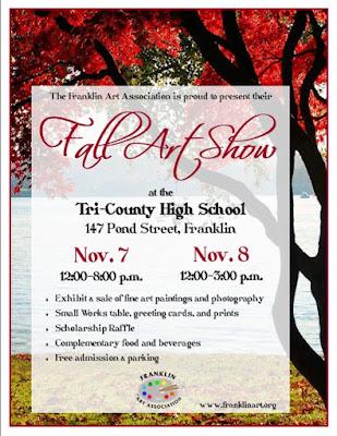 Fall Art Show - Nov 7 and Nov 8