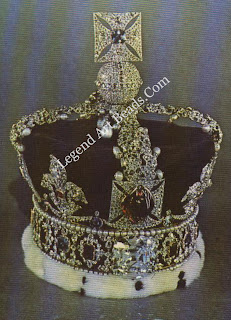 The British Imperial State Crown, containing the 317.4-carat Cullinan