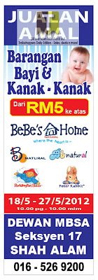 Babies & Kids Stuffs Warehouse Sale Selangor 2012