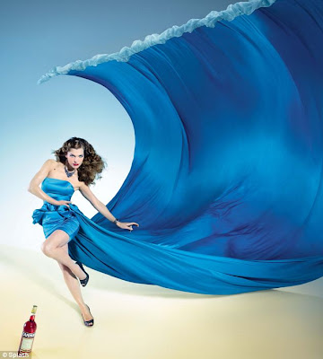 Milla Jovovich Campari 2012 calendar photos