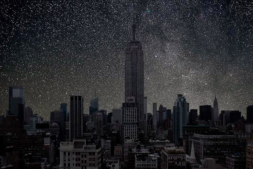 The Empire State Building, New York City - You'll Never Look at the Night Sky in the Same Way