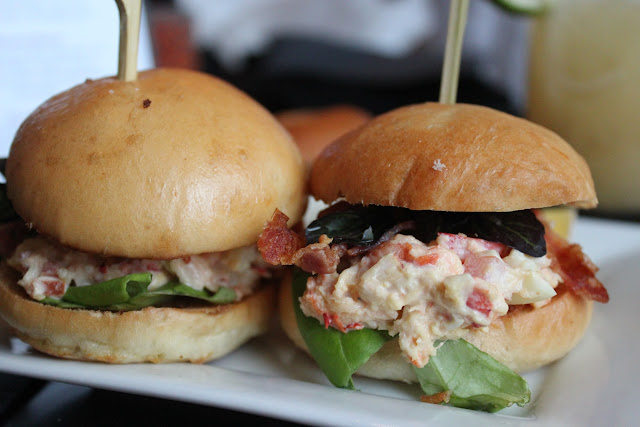 Lobster sliders at RumBa, Boston, Mass.