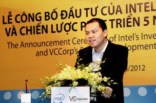 Anh Vương Vũ Thắng – Phó Tổng Giám đốc VC Corp