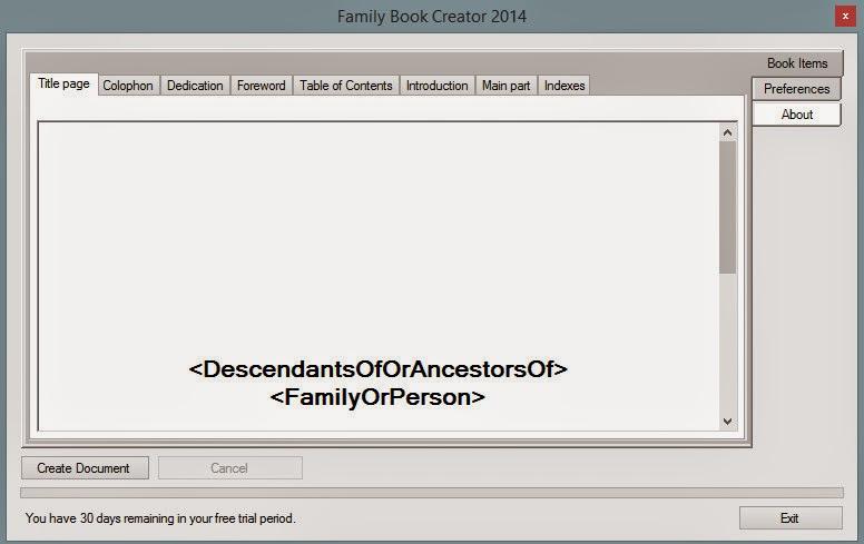 family tree creater