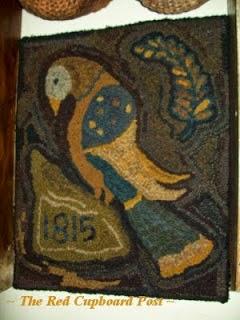 ~ 1815 BIRD RUG  ~