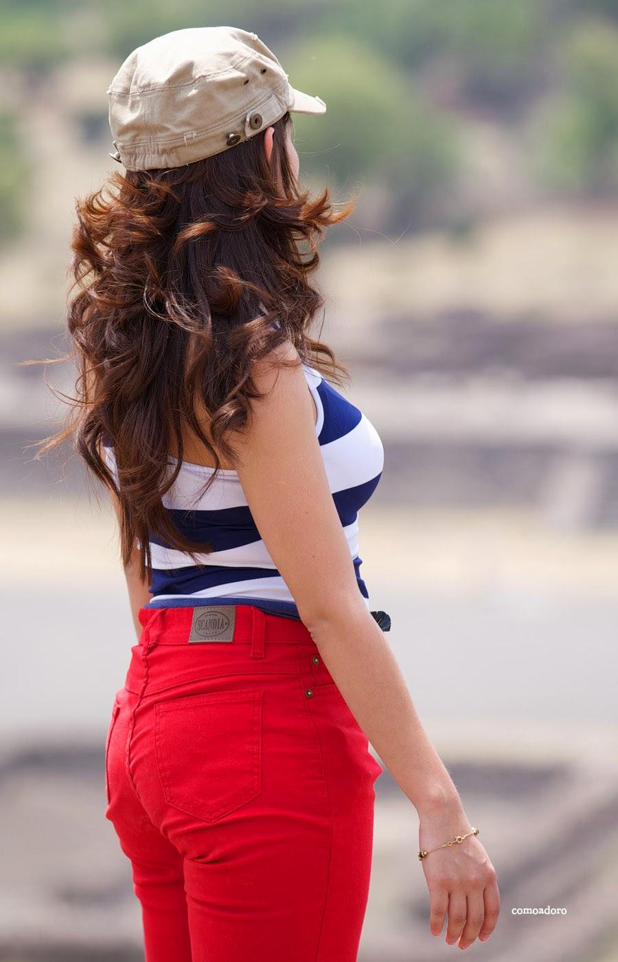 chicas pantalon: