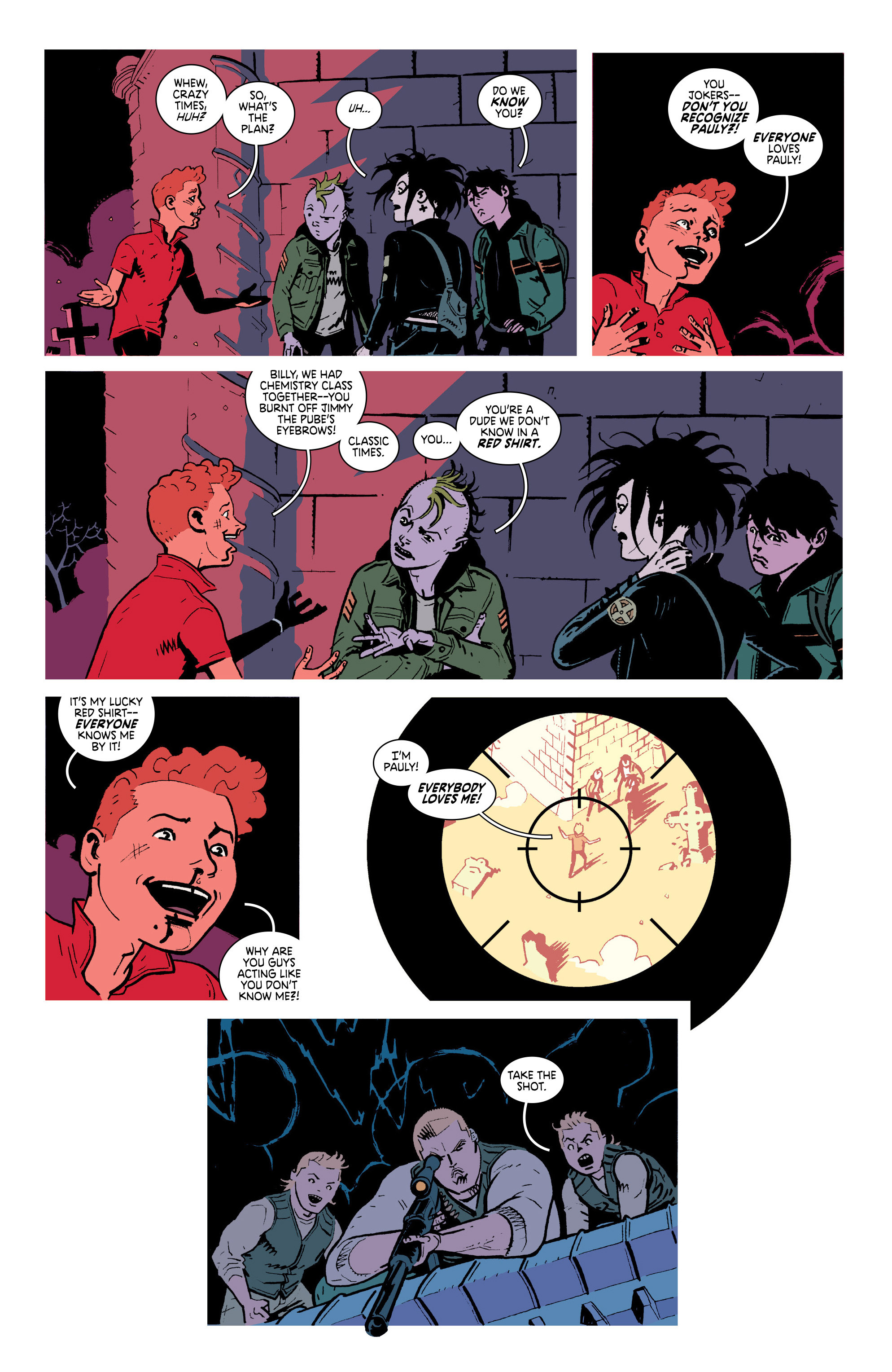 Read online Deadly Class comic -  Issue #18 - 4