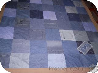 ProsperityStuff Fleece & Jeans Quilt