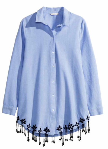 Camisa H&M clon de Nº 21 ss 14