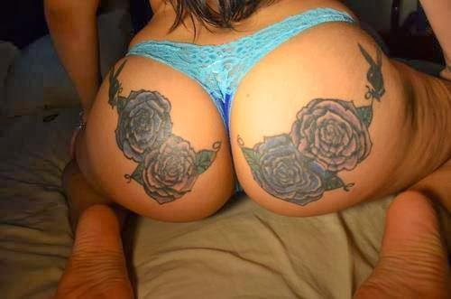 Las chicas del día (+18) - Página 12 Tatuaje+rosas+en+las+nalgas