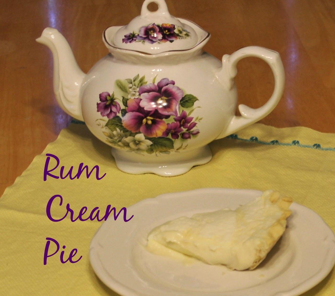 Chestnut Pie With Rum Cream Recipes — Dishmaps