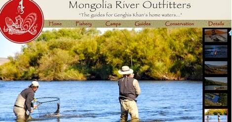 Flyfishing FFishing in Mongolia