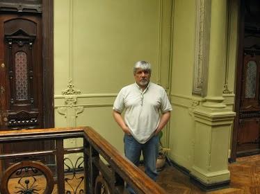 Al interior del Palacio Rivera de Valparaíso (Enero de 2011)