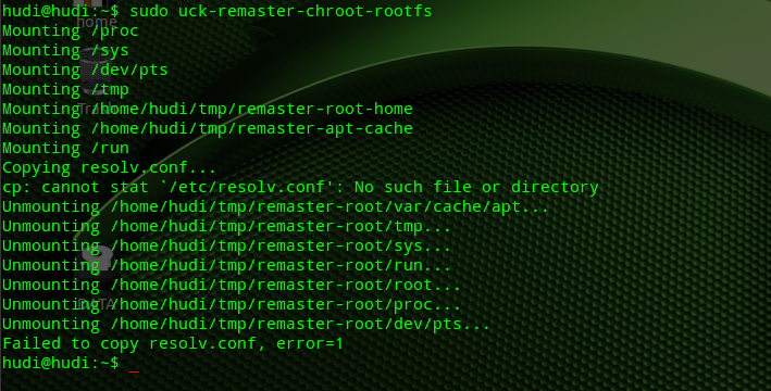how to run terminal as root