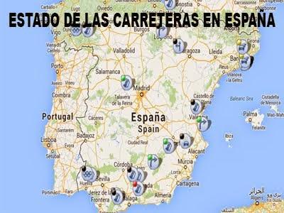 ESTADO DE LAS CARRETERAS EN ESPAÑA