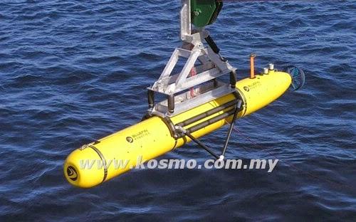 Bluefin-21 alat mencari pesawat MH370 di dasar laut