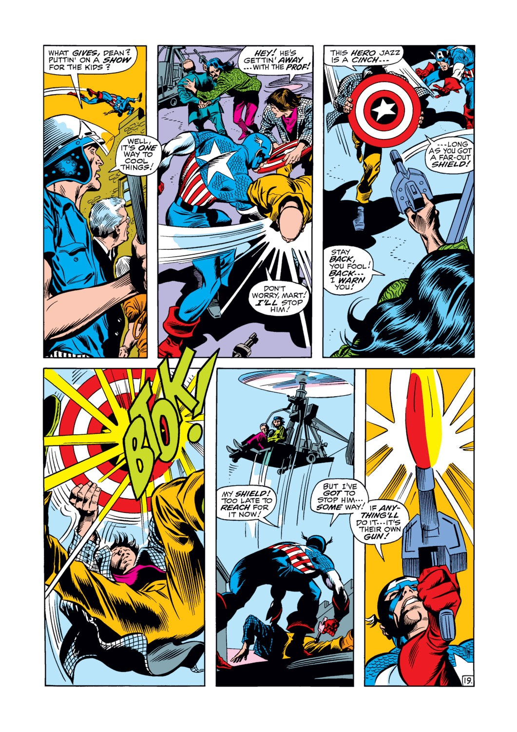 Captain America (1968) Issue #120 #34 - English 20