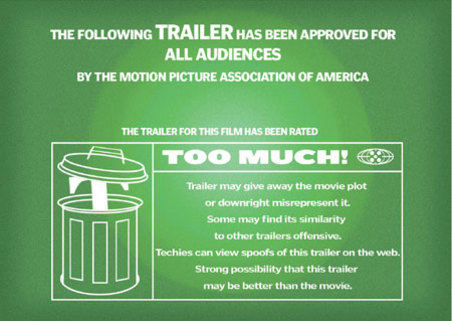 are movie trailers to long mind on movies