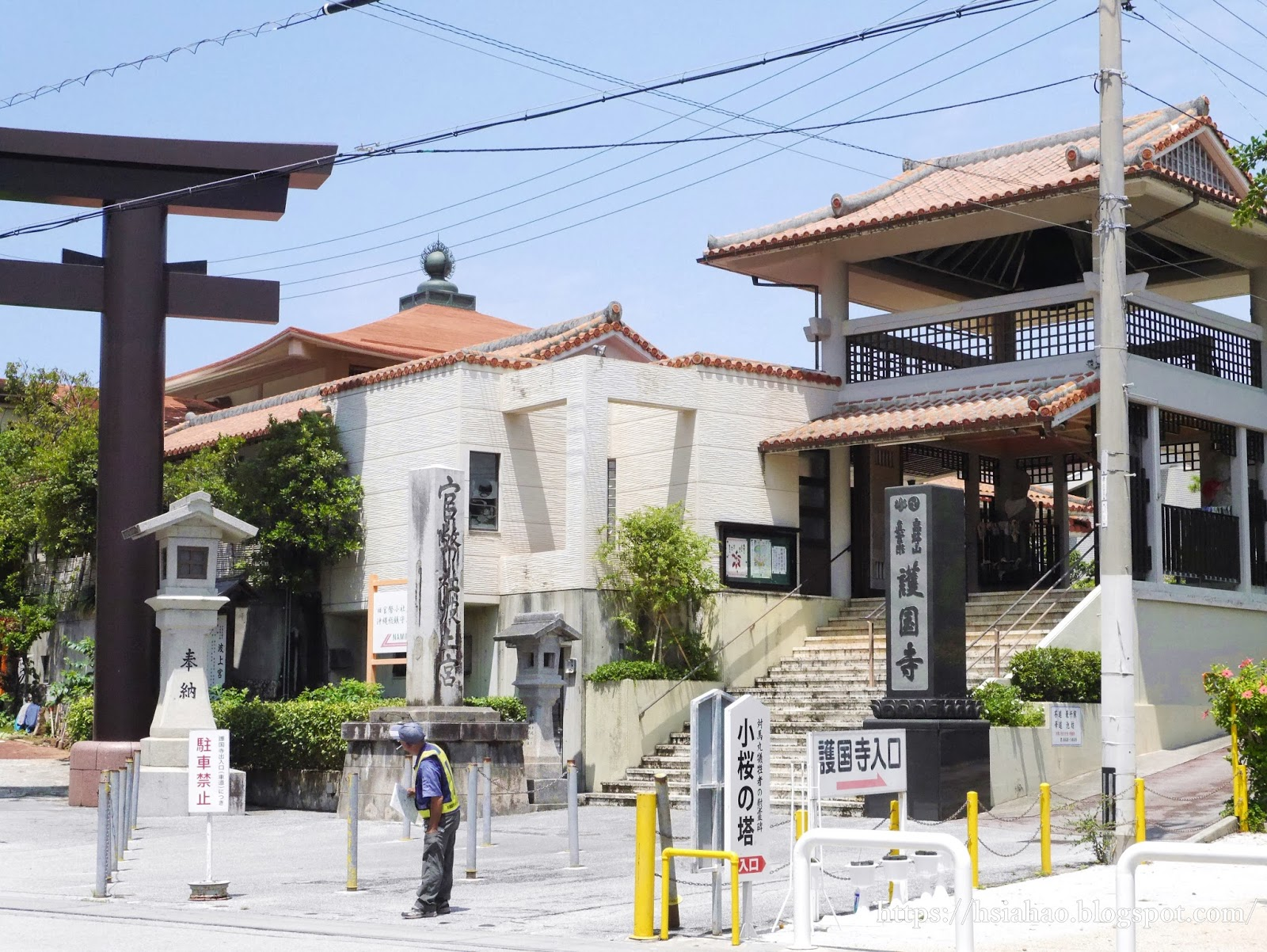 沖繩-那霸-景點-護國寺-自由行-旅遊-Okinawa-Naha-Nanminsan