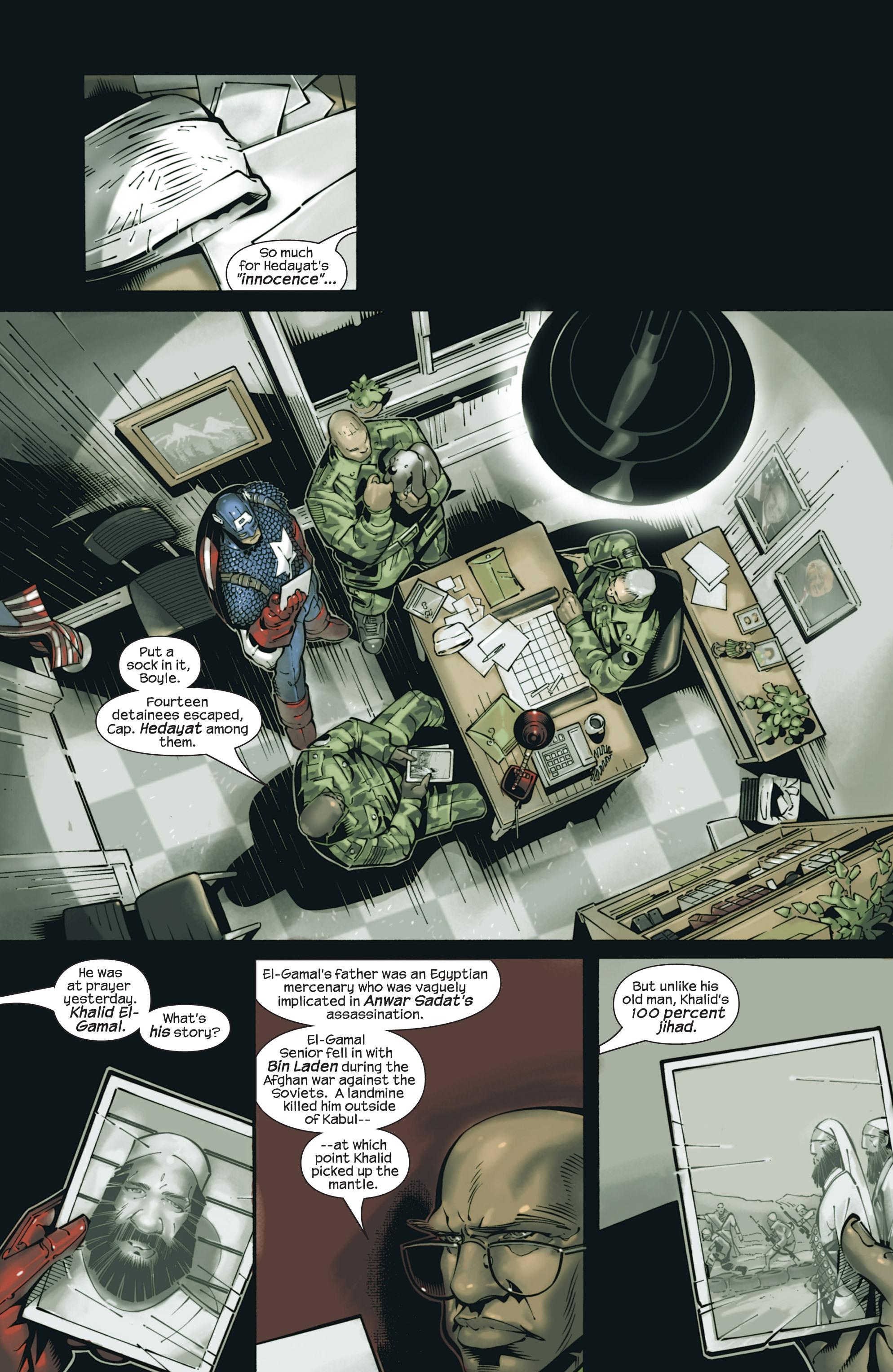 Captain America (2002) Issue #23 #24 - English 9