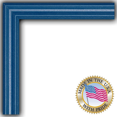 Picture Frame Blue Stain On Red Oak