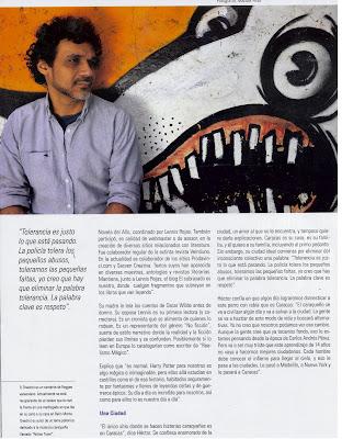 Reseña de Caracas Muerde - Entrevista a Héctor Torres