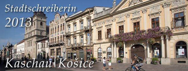 Stadtschreiber Kaschau/Košice 2013
