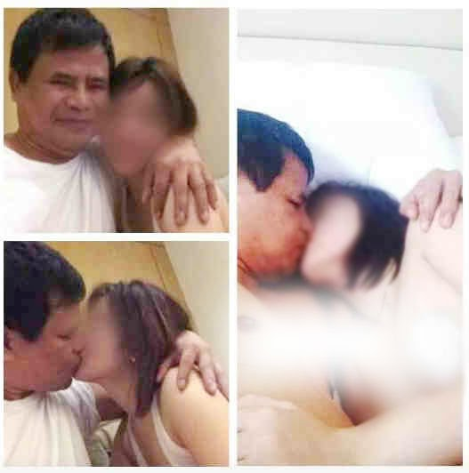 Gov. Egay Tallado angry with his Wife over leaked Video and Photo Scandal