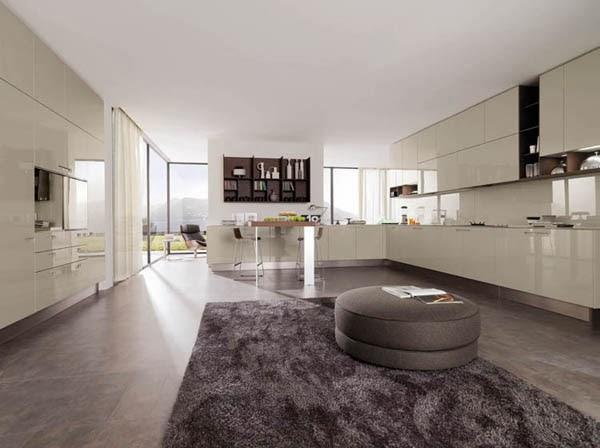 dapur gaya minimalis moderen