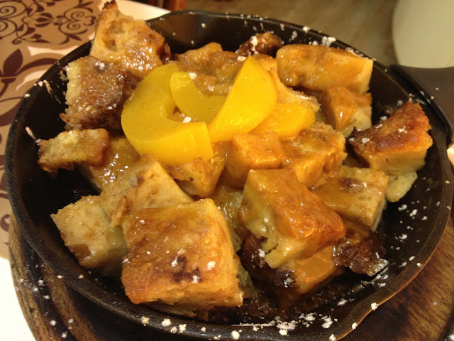 Bourbon Bread Pudding - Maple