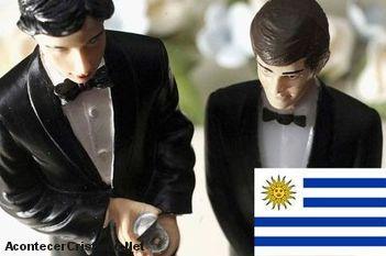 Uruguay aprueba ley de matrimonio homosexual