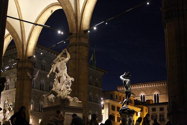 statues Piazza della Signoria