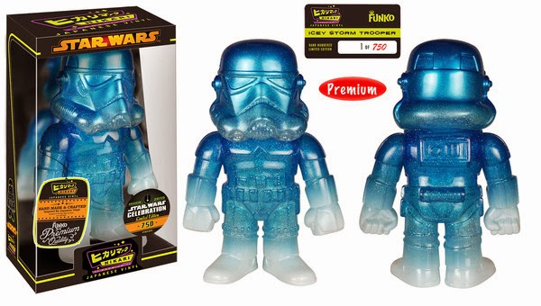 Star Wars Celebration 15 Exclusive Star Wars Hikari Sofubi Vinyl Figures - Icey Stormtrooper