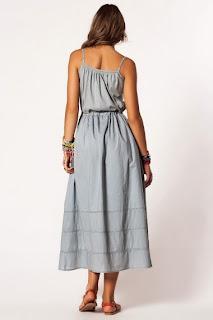 uzun elbise modeli