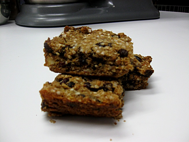 ... Oatless-nola Bars (Oat, peanut, gluten and corn free Granola Bars