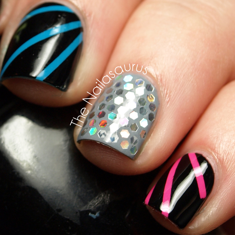 Disco Nail Art