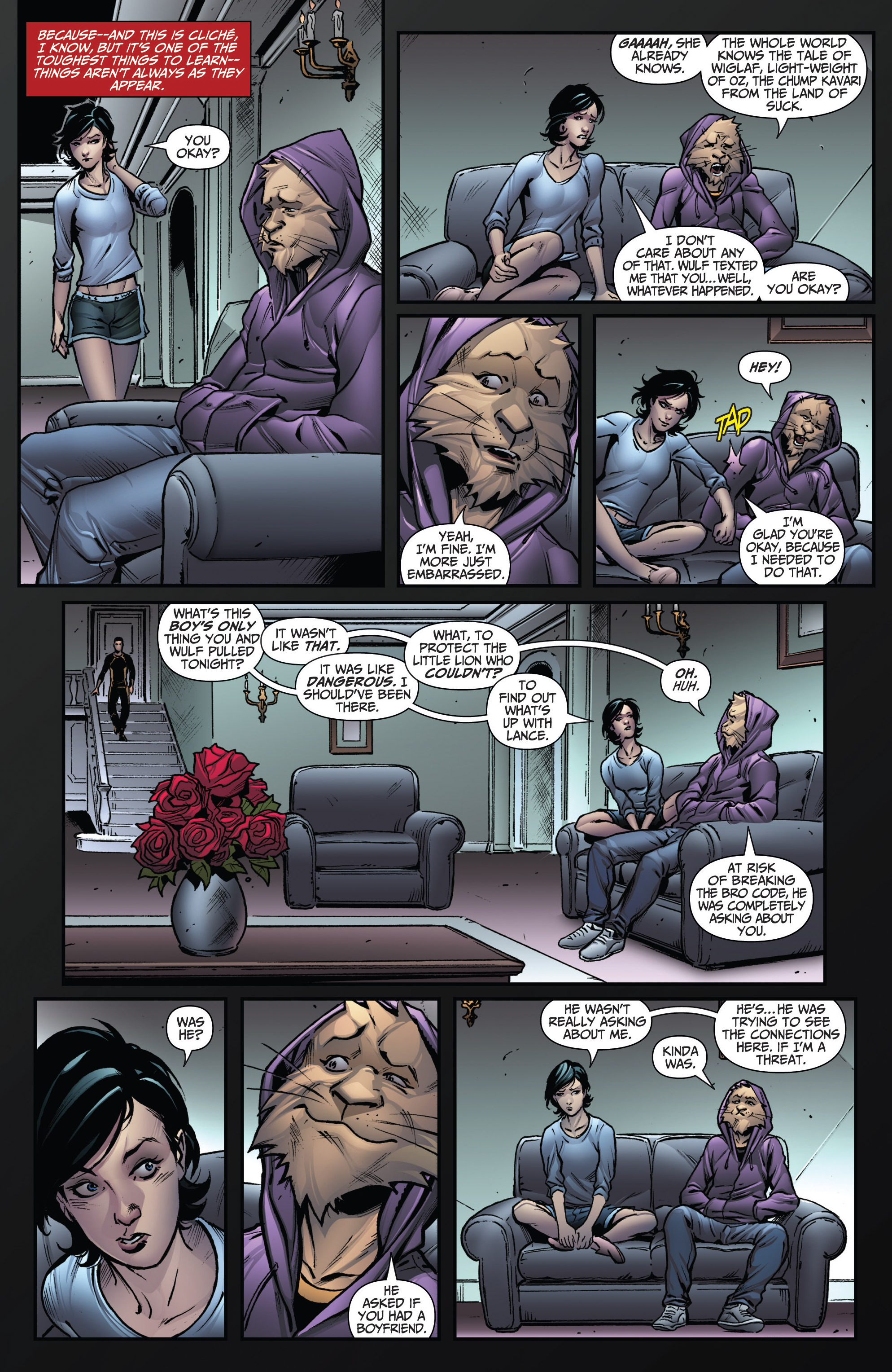 Grimm Fairy Tales (2005) Issue #114 #117 - English 12